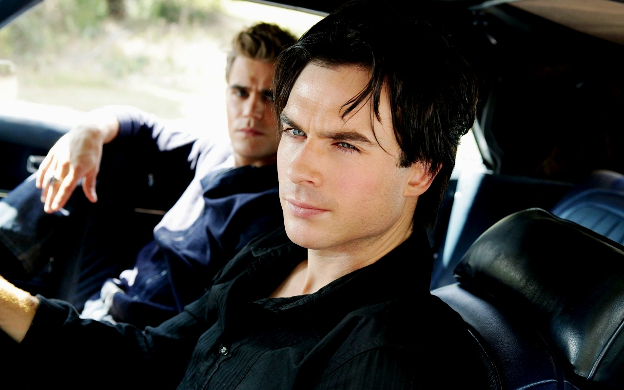 Damon Amp Stefan Damon And Stefan Salvatore Wallpaper