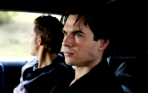 Damon and Stefan Salvatore দেওয়ালপত্র called Damon&Stefan ✯