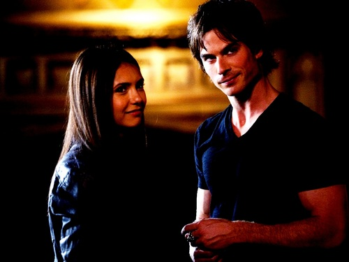Damon and Elena ❤