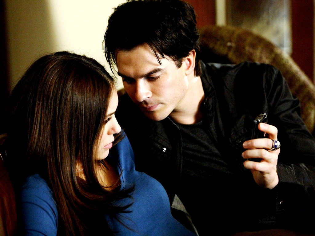 Damon and Elena ❤ - damon-and-elena wallpaper