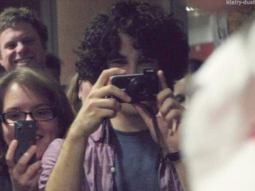 Darren being a fanboy