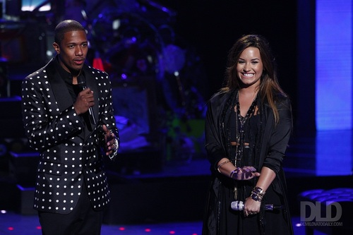 Demi - America's Got Talent - August 24, 2011