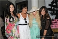 Demi - Kim Kardashian's Bridal Shower - August 2011