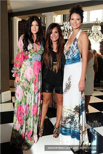 Demi - Kim Kardashian's Bridal Shower - August 2011