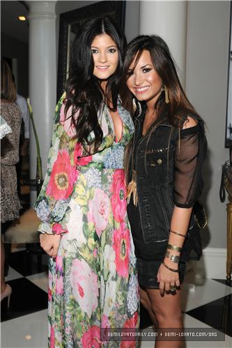 demi lovato images demi kim kardashians bridal shower august 2011 wallpaper and background photos