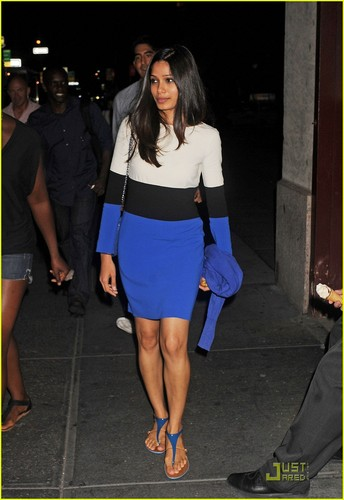Dev Patel & Freida Pinto: Manhattan Mates- August 4, 2011