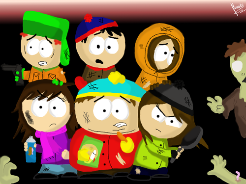 South Park hình nền titled Die zombie! Die AGAIN!