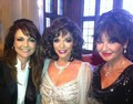EMMA SAMMS, JOAN COLLINS, AND STEPHANIE BEACHAM