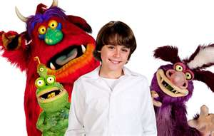 Eddie,Norman,Hagis and the green monster