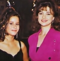 Emma and Kimberly McCullough  - emma-samms photo