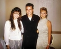 Emma with Finola Hughes & Ian Buchanan on GH Luncheon1987