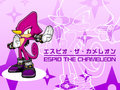 Espio the Chameleon Wallpaper!