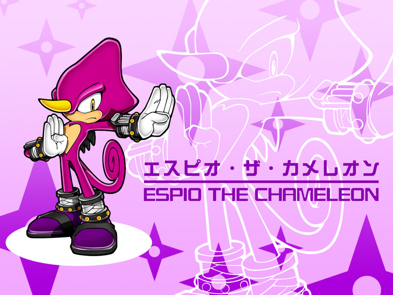 espio the chameleon wallpaper - photo #2