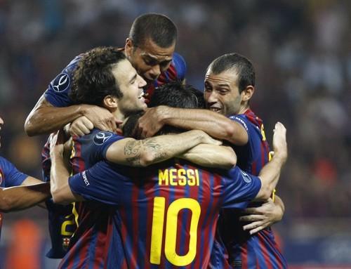 FC Barcelona vs Porto (UEFA Super Cup) [2-0]
