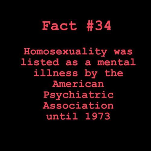 Fact 34 - Homosexuality
