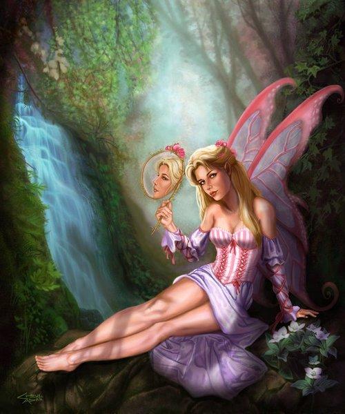 Fairies fairies photo 24898634 fanpop for Miroir de la musique