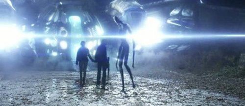 Falling Skies...Tom, Karen...Alien