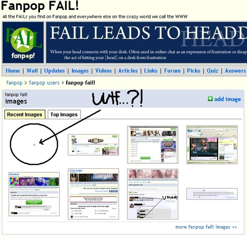fanpop Fail? Computer Fail?