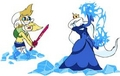 Fiona vs. Ice Queen - adventure-time-with-fiona-and-cake photo