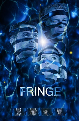 Fringe wallpaper possibly with a pacific sardine titled Fringe Comic Con Poster 2011 (HQ)