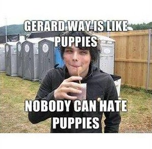 Gee is like Puppies