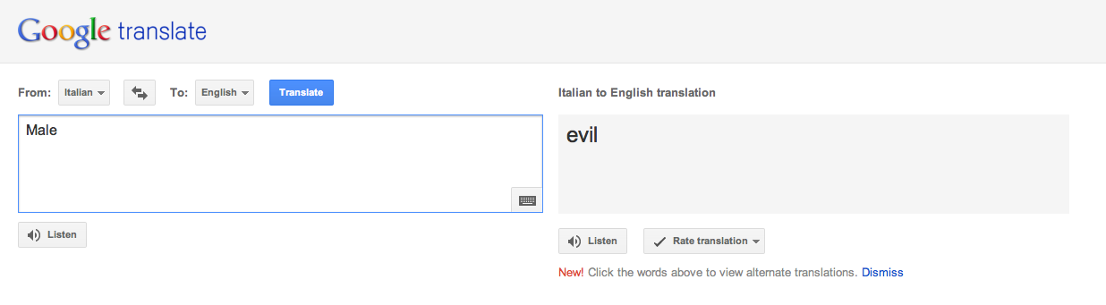 English To Italian Translator Google: Random Photo (24840029)