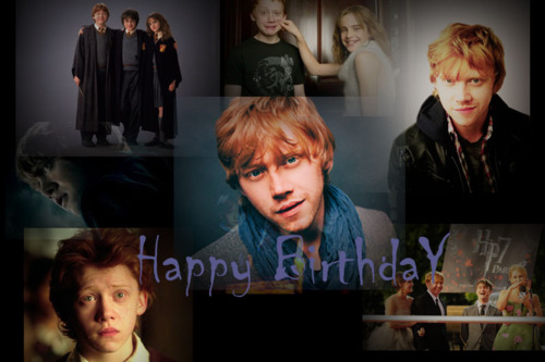 Happy Birthday Rupert Grint ♥.♥