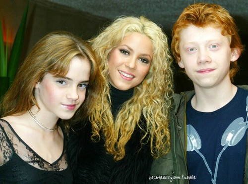 Harry Potter Cast With 샤키라