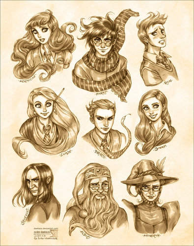 Harry Potter wallpaper titled Harry Potter: Portraits