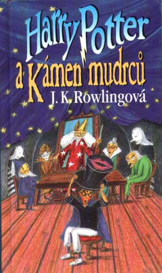 Harry Potter and the Philosopher's (sorcerer's) Stone: Czech Republic