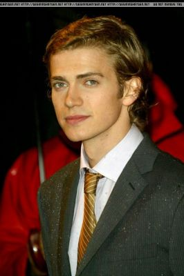 Hayden at the Лондон Premiere of ROTS