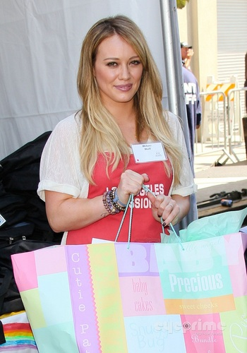 Hilary - Los Angeles Mission End of Summer Block Party - August 27, 2011