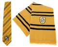 Hufflepuff scarf and tie