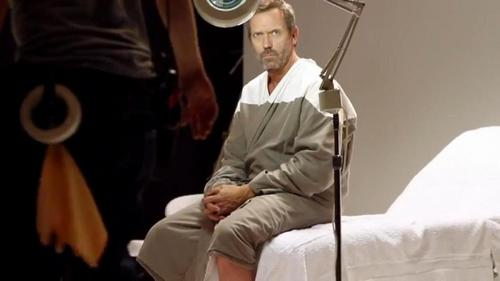 Hugh Laurie BTS