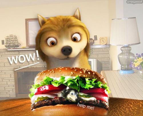 Humphrey burger.
