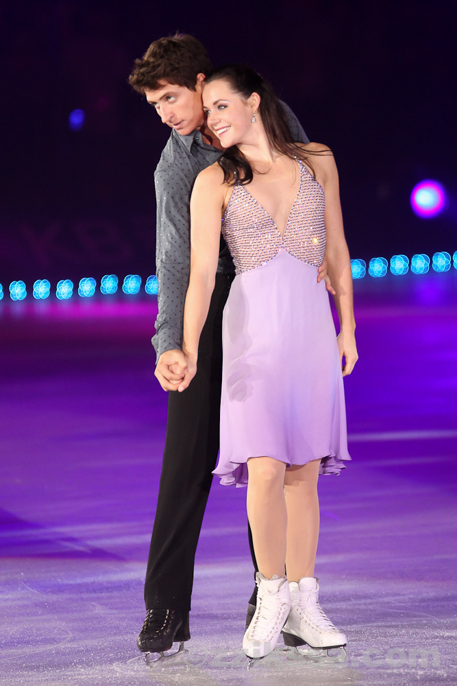 Tessa Virtue and Scott Moir Say Theyre Not Dating