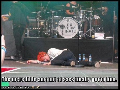 Incredible sass - my-chemical-romance Photo