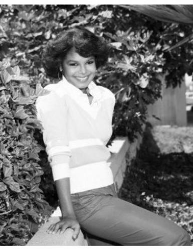 JANET JACKSON RARE 1982 foto SHOOT