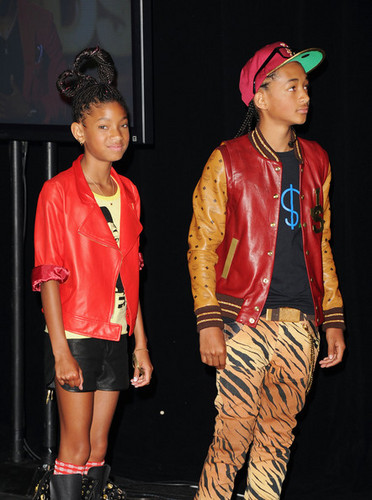 Jaden & Willow at BET Awards