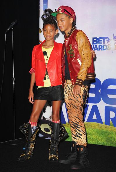 Jaden & Willow at BET Awards