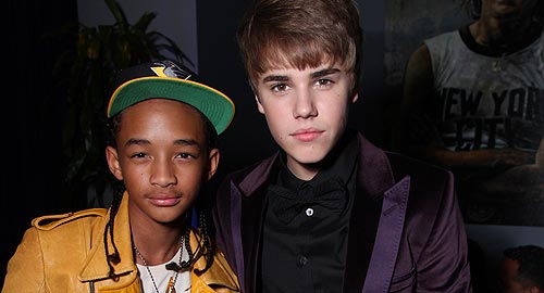 Jaden smith & Justin Bieber - justin-bieber-and-jaden-smith Photo