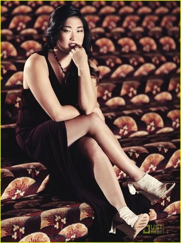 Jenna Ushkowitz Covers 'Audrey' Fall 2011