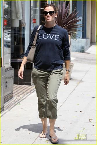 Jennifer Garner: Baby Bump amor