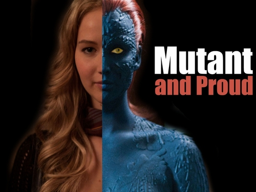 Jennifer as Raven Darkholme / Mystique - jennifer-lawrence Fan Art