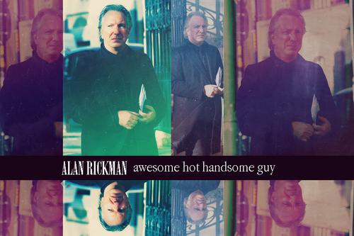 Just Alan Rickman