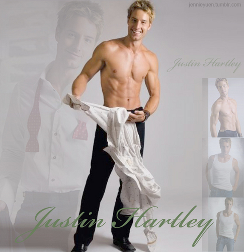 Justin Hartley wallpaper possibly containing skin entitled Justin Hartley ^_^