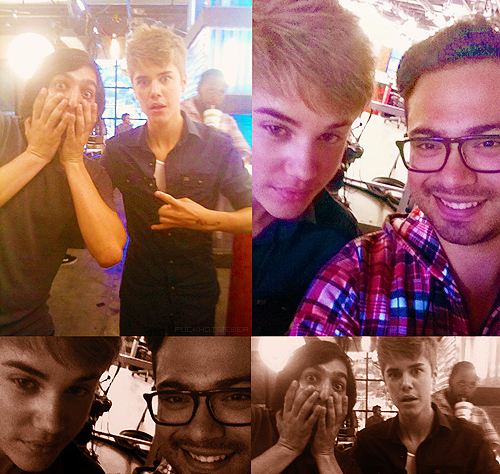 Justin at @TMZ today :)