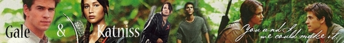 Katniss and Gale - katniss-peeta-and-gale Fan Art