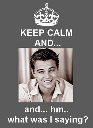 Keep Calm And....And....