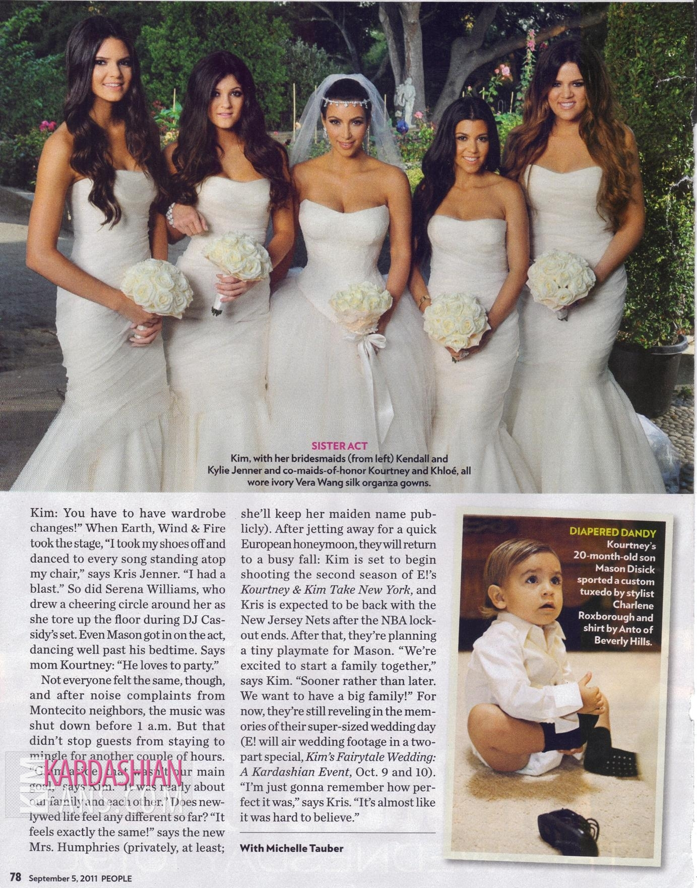 Keeping Up With The Kardashians Images Kim Kardashian People Magazine Wedding Edition Hq Scans Hd Wallpaper And Background Photos
